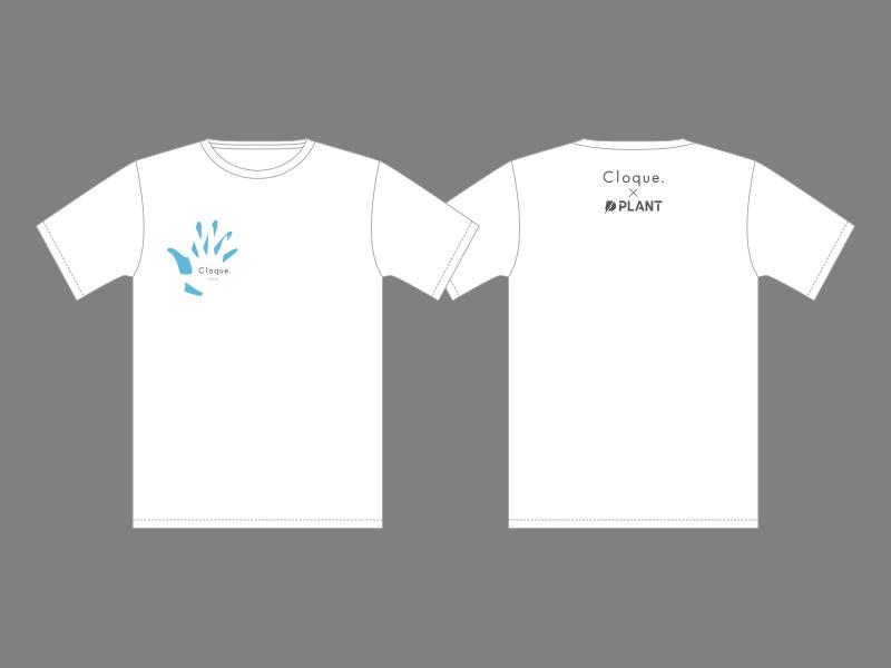 Cloque.×PLANT オリジナル Tシャツの画像