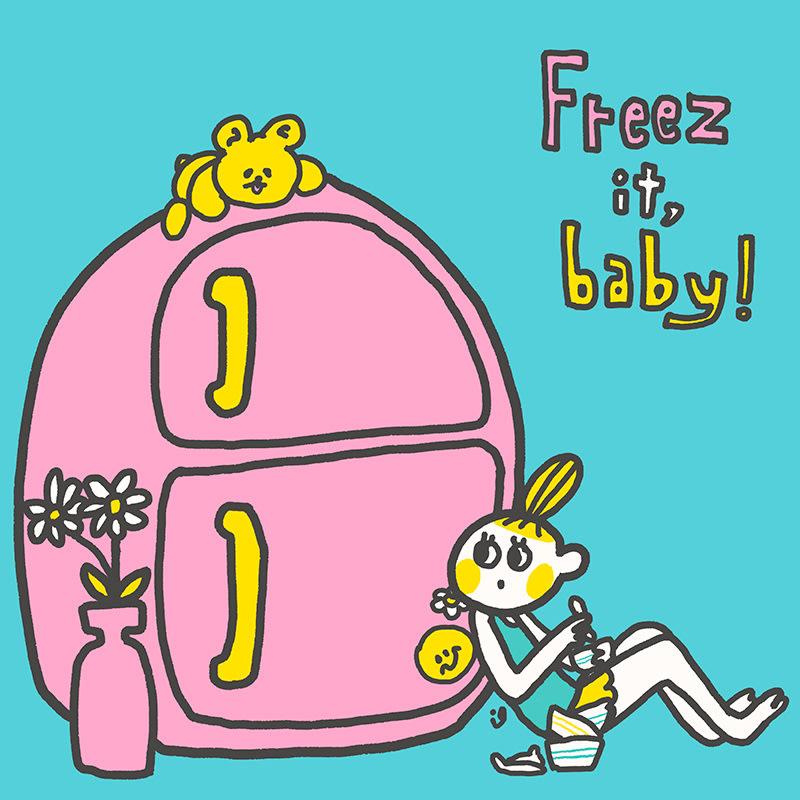 【完全生産限定EP「Freez it, baby!」】の画像