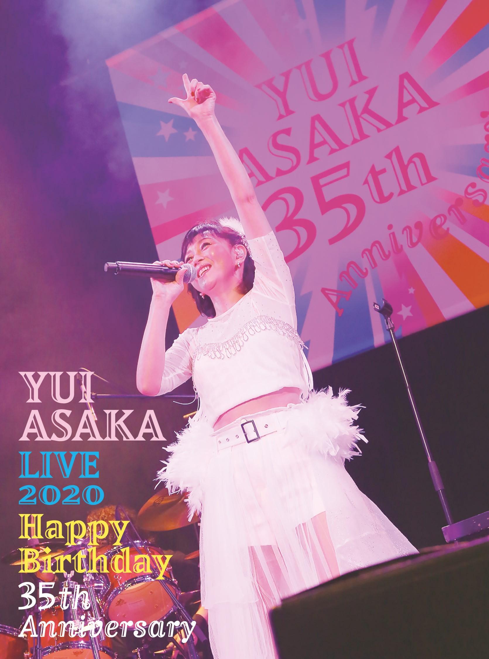 YUI ASAKA LIVE 2020~Happy Birthday 35th Anniversary【完全生産限定3枚組BOX】の画像