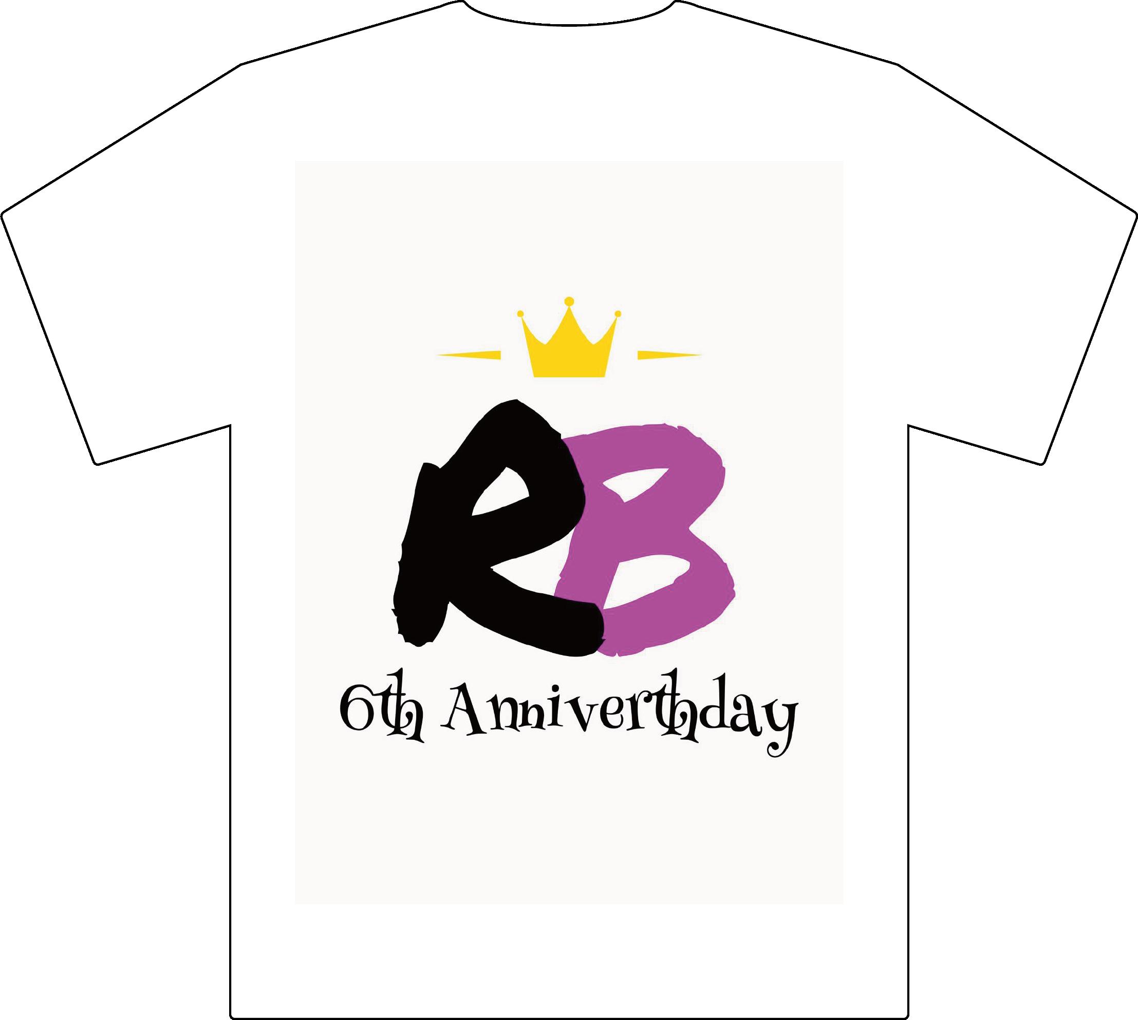 6周年Tシャツの画像
