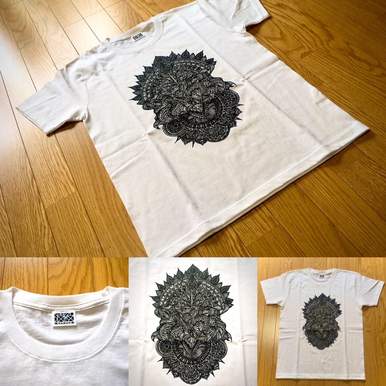 「波紋2020」Tシャツの画像