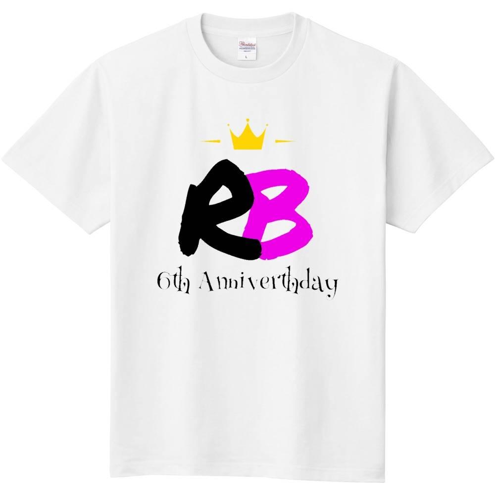 6周年記念Tシャツの画像