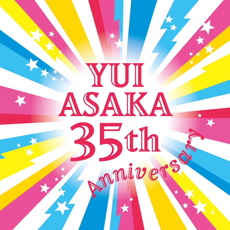 【WIZY限定】「YUI ASAKA 35th Anniversary」バンダナの画像