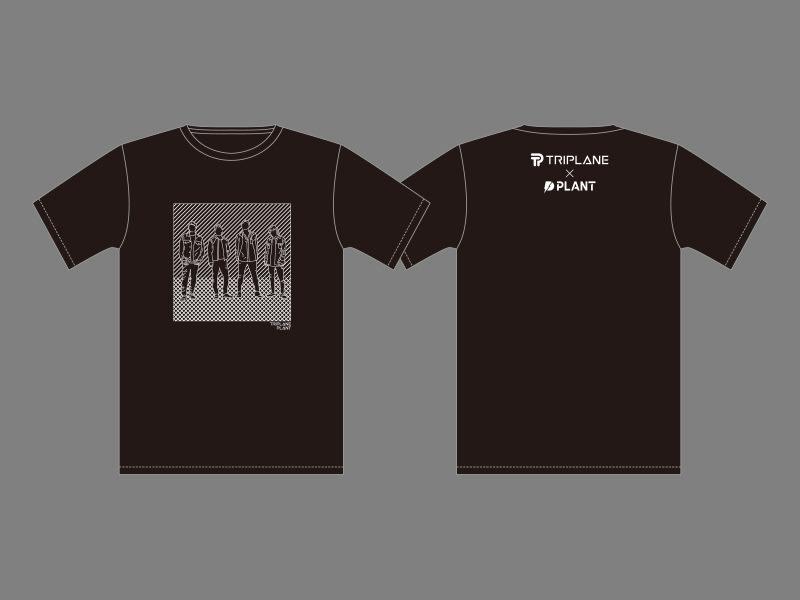 TRIPLANE×PLANT オリジナル Tシャツの画像