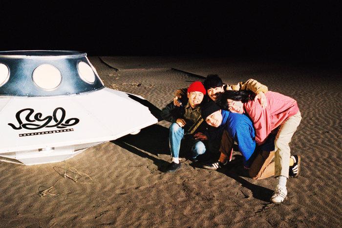 never young beach オリジナルアナログターンテーブルを予約販売!の画像