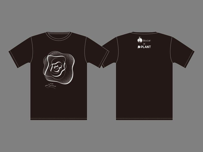 tacica×PLANT オリジナル Tシャツの画像