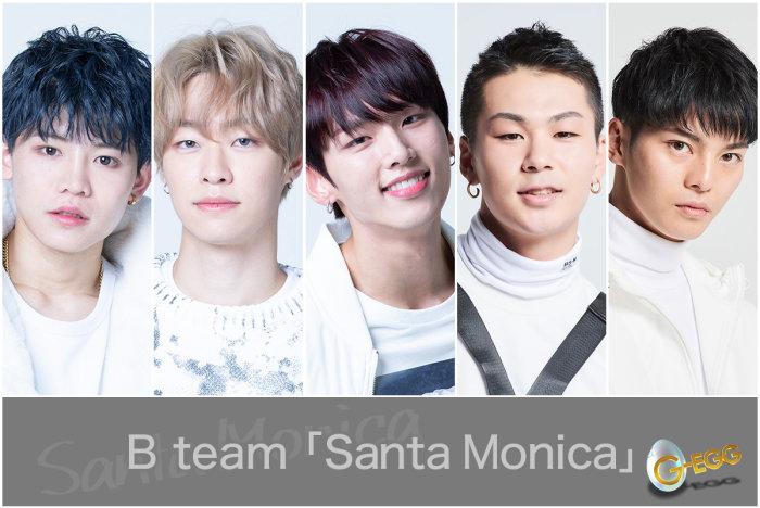G-EGG×B team「Santa Monica」ミュージックビデオ制作の画像